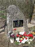 1. Памятный знак воинам артиллеристам, павшим на Ауверском плацдарме. 8.05.2010